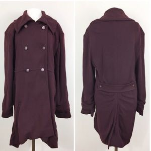 Chanel Wool Double Breasted Pea Coat 1998 Vintage